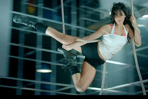 katrina kaif takes circus acts to a sexy new level in