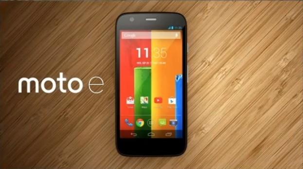 Meet Moto E the Commoners smartphone