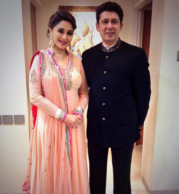 Why were rumours of madhuri dixit divorce doing rounds?