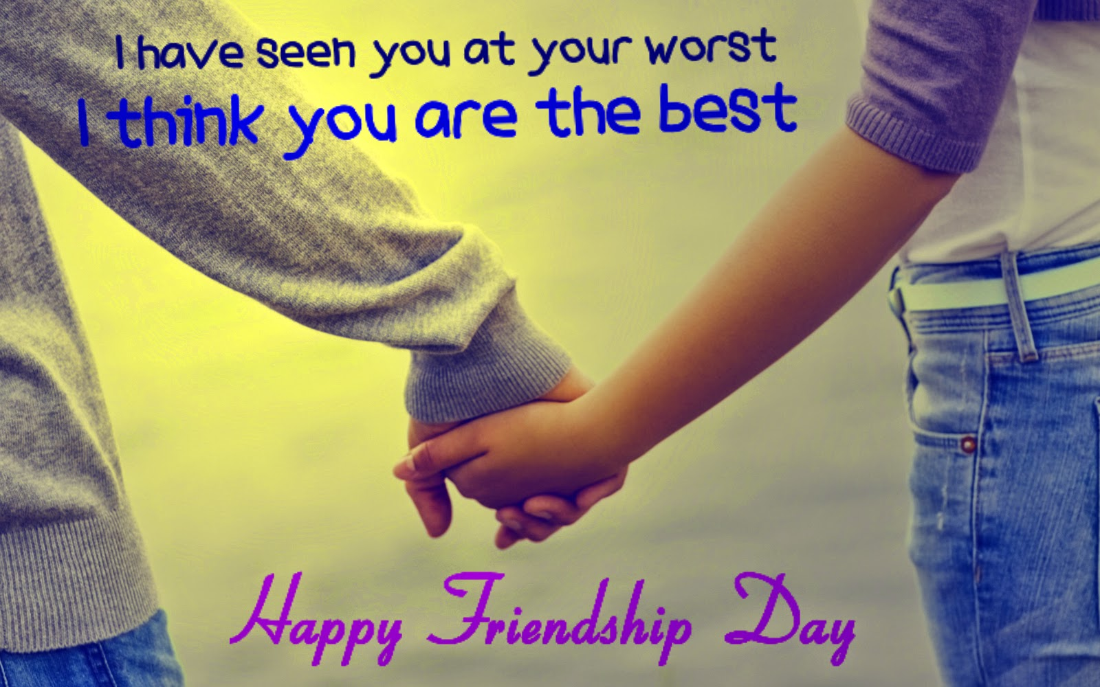Friendship Day Wishes Wallpaper